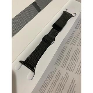 Apple - 純正 Apple Watch 38-40mm グラファイトミラネーゼループ