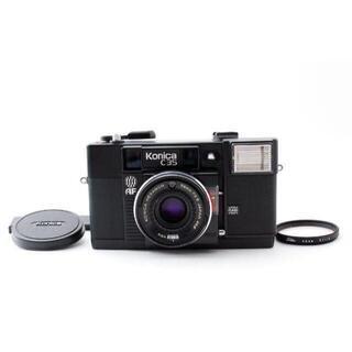 コニカミノルタ(KONICA MINOLTA)のKonica C35 AF フィルムカメラ【完動品】(フィルムカメラ)