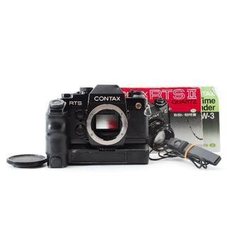 CONTAX RTS II + ワインダーW-3 +レリース(フィルムカメラ)