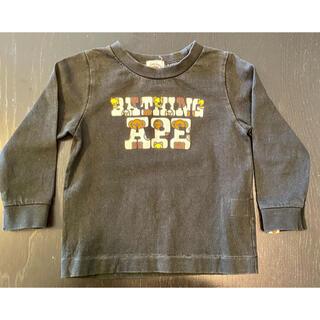 アベイシングエイプ(A BATHING APE)のBAPE KIDS ベイプキッズ Tシャツ 長袖 90(Tシャツ/カットソー)