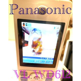 パナソニック(Panasonic)のPanasonic!ドアホン ワイヤレスモニター子機  VL-WD612(防犯カメラ)