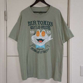 Disney - Disney ディズニー Tシャツ キャラクター古着 トード氏 ビッグシルエット