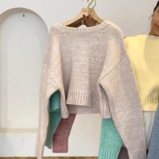 シールームリン(SeaRoomlynn)のMix Color Basic ニット(ニット/セーター)