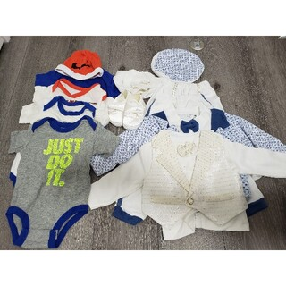 NIKE - まとめ売り ナイキ NIKE 赤ちゃん・男子ロンパース・ズボン・スーツ・帽子など