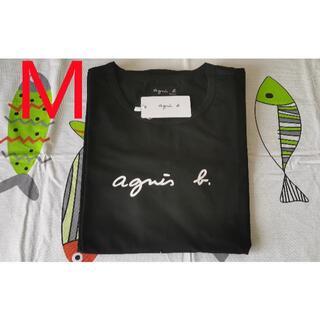 agnes b. - 【新品】 agnes b アニエスベー ブラックTシャツ M