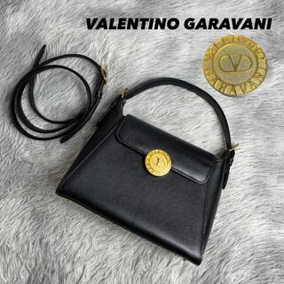 ヴァレンティノガラヴァーニ(valentino garavani)の●美品●ヴァレンティノガラバーニ ヴィンテージ ハンドバッグ 2way(ハンドバッグ)