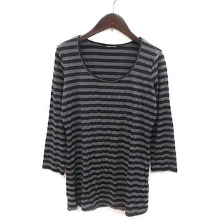 メイソングレイ(MAYSON GREY)のメイソングレイ MAYSON GREY Tシャツ カットソー ロンT ボーダー(Tシャツ(長袖/七分))
