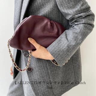 L'Appartement DEUXIEME CLASSE - 【AULENTTI/オウレンティ】2Way Clutch Bag