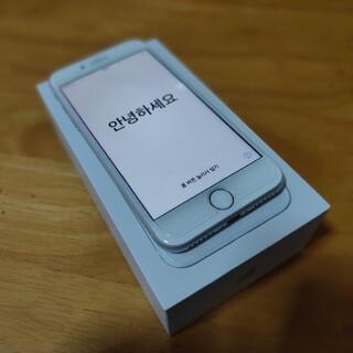 iPhone8 silver 64GB simフリー