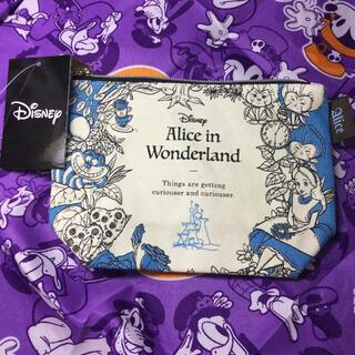 Disney - 不思議の国のアリス ポーチ アリス ダイナ ヤングオイスター