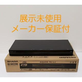 アクオス(AQUOS)のSHARP AQUOS ブルーレイ  レコーダー BD-NW2200(ブルーレイレコーダー)