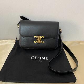 celine - CELINE ミディアム / シャイニーカーフスキン ブラック