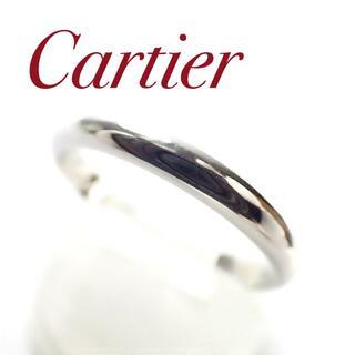 Cartier - カルティエ Cartier Pt950 バンド リング 52号 プラチナ