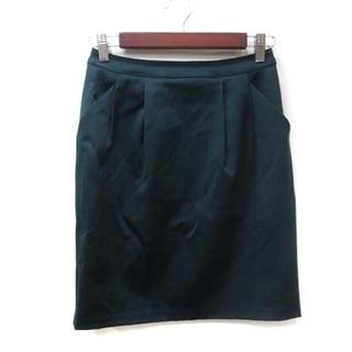 アナイ(ANAYI)のアナイ ANAYI タイトスカート ひざ丈 36 緑 グリーン /YI(ひざ丈スカート)