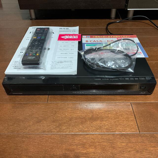 東芝ブルーレイレコーダー REGZA ダブルチューナー搭載 新品BSカード付き