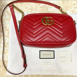 Gucci - ❤︎美品❤︎GUCCI GGマーモント キルティング スモールショルダーバッグ