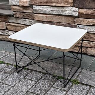 イームズ LTRT テーブル ローテーブル ミニテーブル サイドテーブル 白/黒(ローテーブル)