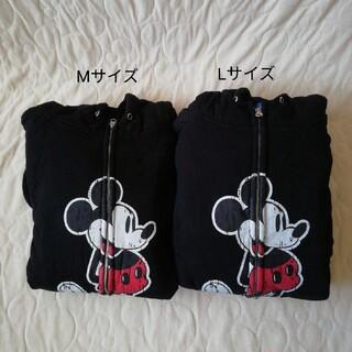 ミッキーマウス(ミッキーマウス)のTDR ミッキー柄裏ボアパーカーM、Lセット(パーカー)