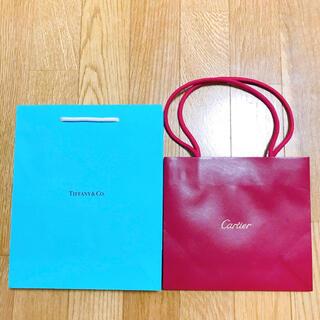 カルティエ(Cartier)のカルティエ ティファニー ショップ袋 ショッパー(ショップ袋)