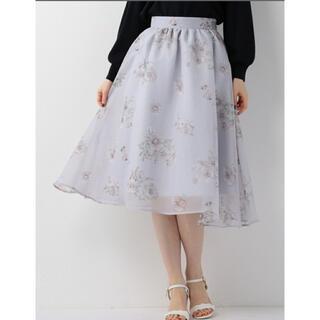 ミッシュマッシュ(MISCH MASCH)のミッシュマッシュ エアリー花柄スカート(ロングスカート)