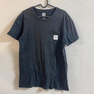 ハフ(HUF)のHUF ブラックTシャツ メンズMサイズ(Tシャツ/カットソー(半袖/袖なし))