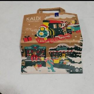カルディ(KALDI)のカルディ 冬(ショップ袋)