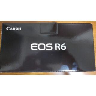 Canon - 【新品・保証書付き】EOS R6