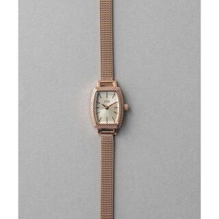 ete - ete トノーフェイス 腕時計 ピンクゴールド