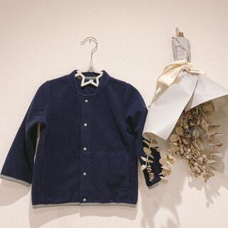 ムジルシリョウヒン(MUJI (無印良品))の無印良品 100サイズ ブルゾン フリース(ジャケット/上着)