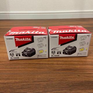 マキタ(Makita)のマキタ バッテリー 18v6.0Ah(工具/メンテナンス)