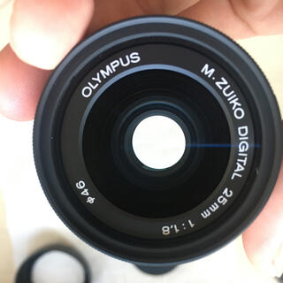 OLYMPUS  M.ZUIKO DIGITAL 25mm F1.8 ブラ
