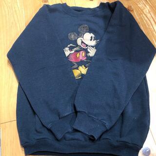 ミッキーマウス(ミッキーマウス)のミッキー スウェット 古着(スウェット)