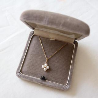MIKIMOTO - パール ダイヤ ネックレス