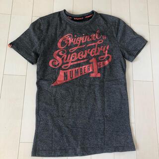 superdry 極度乾燥スーパードライ メンズ Tシャツ Sサイズ  杢グレー