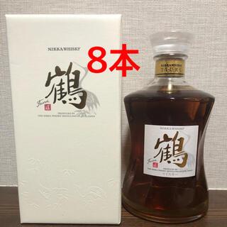 ニッカウヰスキー - NIKKA/ニッカウイスキー  鶴700ml×8本 蒸溜所限定販売品