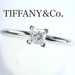 Tiffany & Co. - ティファニー TIFFANY 0.20ct I IF プリンセスダイヤ リング