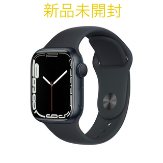Apple Watch - Apple Watch Series 7 GPSモデル 41mm ミッドナイト