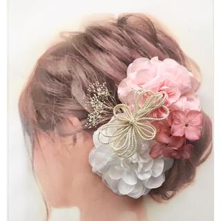 愛らしい髪かざり 袴 卒業式 結婚式 成人式 和装 髪飾り