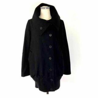 ダブルスタンダードクロージング(DOUBLE STANDARD CLOTHING)のダブルスタンダードクロージング・コクーンコート ブラック 黒 アウター(ロングコート)