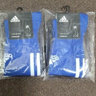 adidas - サッカー ソックス 2足セット 23-25cm アディダス