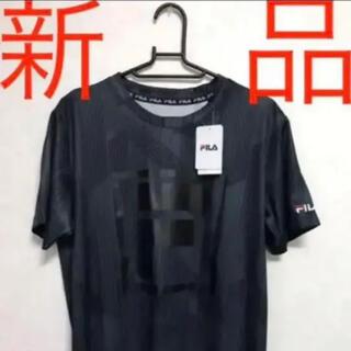 FILA - #値下げ#フィラFILA Tシャツ#Mサイズ#黒BLACK