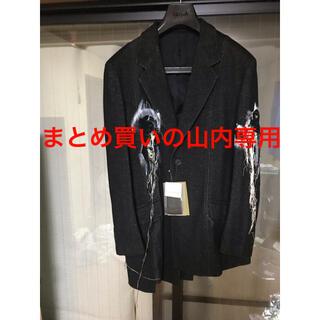 Yohji Yamamoto - yohjiyamamoto20aw 銀刺繍たてはぎジャケット