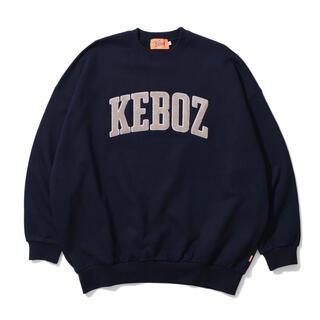 KEBOZ 新作 ロゴ スウェット ネイビー Mサイズ