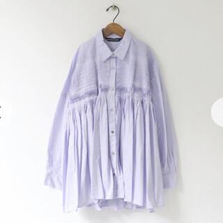 JOURNAL STANDARD - mizuiro ind ピンタック刺繍ワイドシャツ