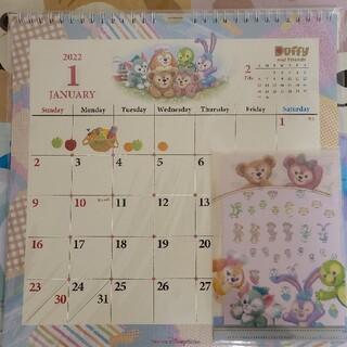 ディズニー(Disney)のディズニー ダッフィーフレンズ 壁掛けカレンダー2022(カレンダー/スケジュール)