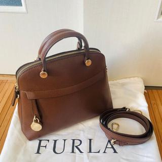 Furla - FURLA パイパー Sサイズ ブラウン