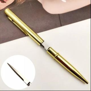 [即購入可]ペーパーナイフ&ボールペン(金)