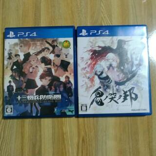 PlayStation4 - PS4 十三機兵防衛圏 鬼ノ哭ク邦 アトラス スクウェアエニックス  PS4ソフ