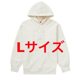 Supreme - cross box logo hooded sweatshirt L