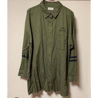 レピピアルマリオ(repipi armario)のシャツ ワンピース レピピ(その他)